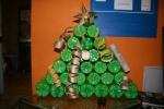 El resultat: un arbre de Nadal amb valor afegit!